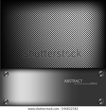 grey metal background texture pattern for text and message dimension overlap design eps10