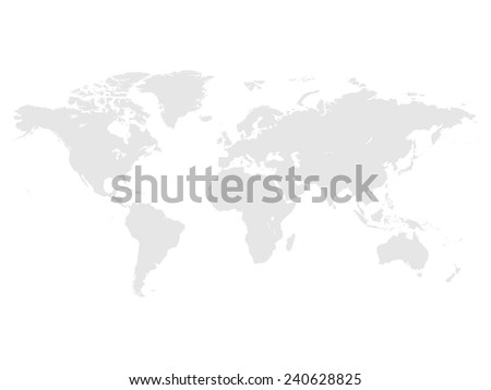 Grey political world map stock vector hd royalty free 240628825 grey political world map gumiabroncs Images