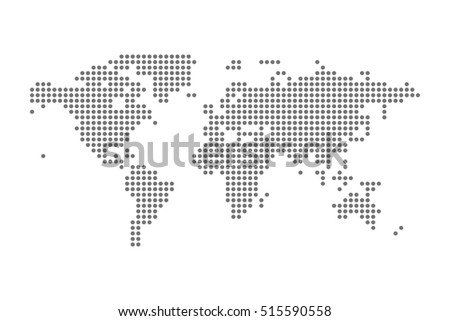 Grey political world map vector isolated stock vector 515590558 grey political world map vector isolated stock vector 515590558 shutterstock gumiabroncs Choice Image
