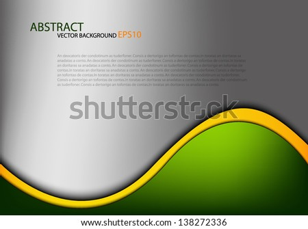 grey vector background overlap dimension 3d graphic message board for text and message design frame line shadow for modern web design eps10 - stock vector