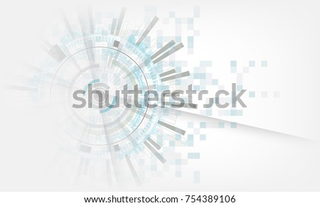 grey & white modern technology electric digital abstract background. Vector graphic design.for creative banner, poster, template website,book
