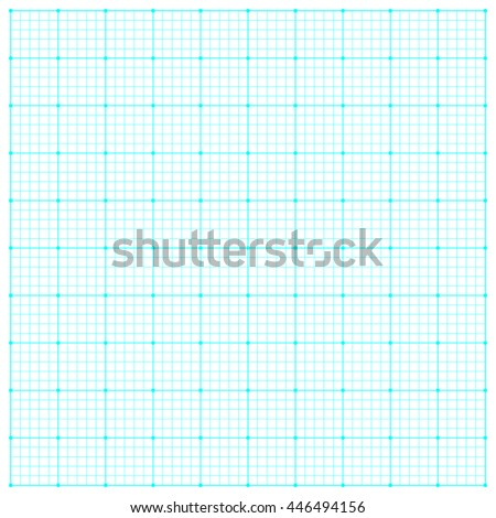 grid graph line on white background - stock vector