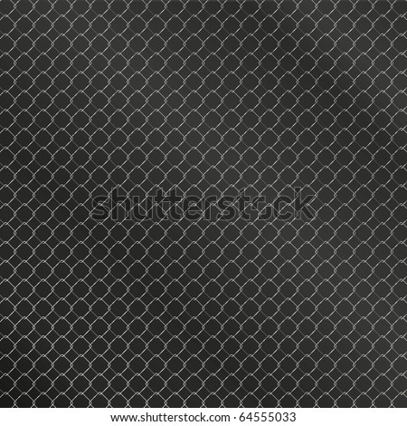grid mesh background, black metal with rough texture. macro of speaker grill. - stock vector