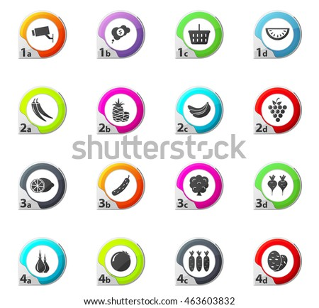 Health Nutrition Icon Low Fat Calorie Stock Vector 556838386 ...