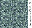 groovy seamless pattern - stock vector
