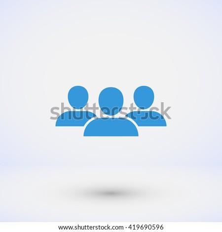 Group icon  - stock vector