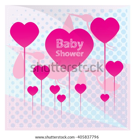 Group of hearts with text on a textured background