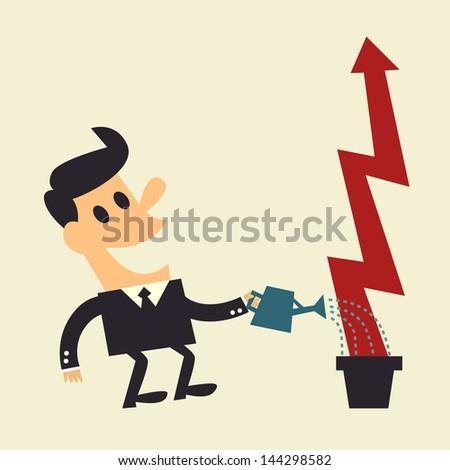 Growth - stock vector