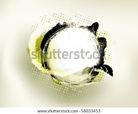 grunge background - stock vector