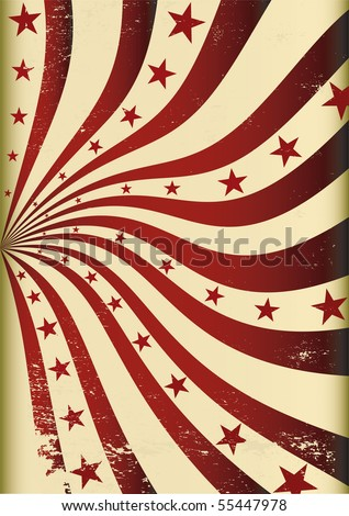 Grunge background. A background for your advertising. - stock vector