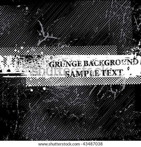 Grunge background. Vector. - stock vector
