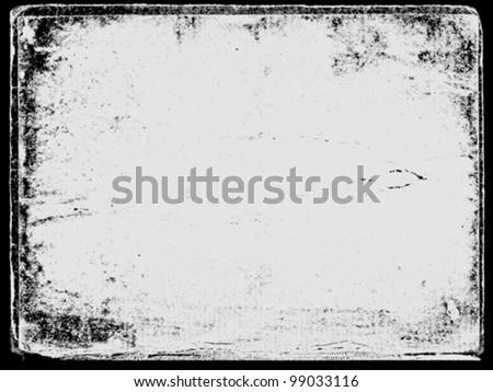 grunge background, vector illustration - stock vector