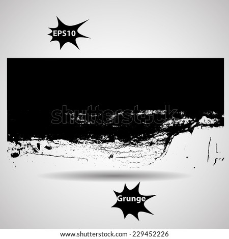Grunge Banner. Rubber Stamp Texture . Distress Background . Grungy Texture .Retro Background. Vintage Background . Texture Background . Abstract Shape . Vector Illustration . - stock vector