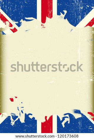 Grunge British Flag Dirty British Flag Stock Vector 120173608 ...