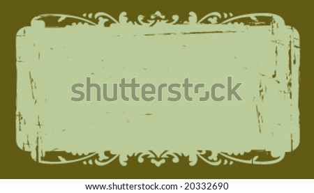 Grunge business card background