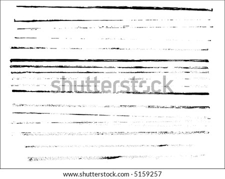 Grunge elements - full page of Grunge Lines -  Highly Detailed vector grunge elements. - stock vector