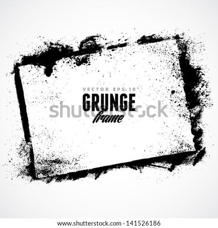 Grunge Frame for multiple applications - stock vector