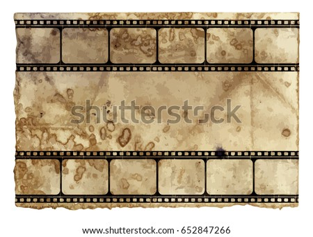 Grunge Frame Or Distressed Texture . Large High Detailed Decorative Vector Vintage Weathered Border. Great Grunge Background Or Retro Design Decor Element For Your Projects.