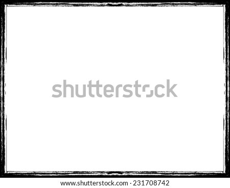 Grunge Frame. Vector Illustration.  - stock vector