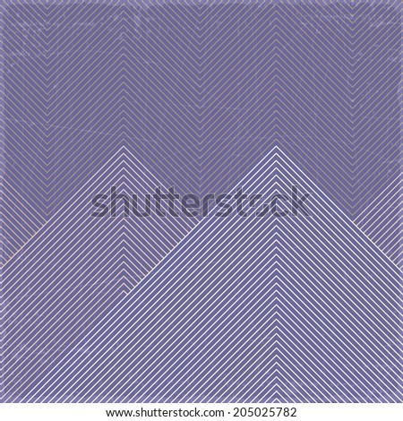 Grunge geometric pattern, vector eps10 format. - stock vector