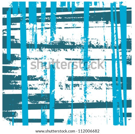 grunge graphic design background stripes - stock vector