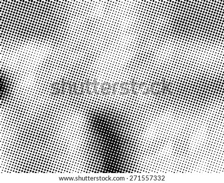 Grunge halftone dots vector texture background. Pixel background Texture. - stock vector