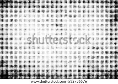 Grunge halftone vector background.Halftone dots vector texture.