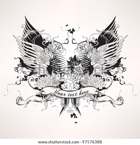 tattoo designs stock photos royalty free images vectors shutterstock. Black Bedroom Furniture Sets. Home Design Ideas