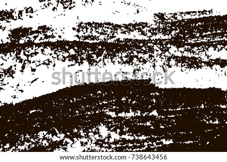 Grunge marble texture. White and black distress design. Torn stone modern background. Monochrome granite surface. Vector illustration.