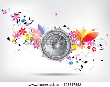 grunge musical background theme
