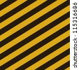 Grunge striped cunstruction background vector illustration - stock vector