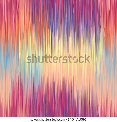 Grunge stripes seamless pattern in blue,yellow,pink colors - stock vector