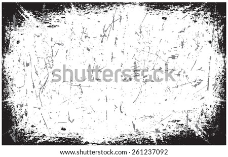 Grunge texture.Distress background.Scratch texture.Abstract vector template. - stock vector