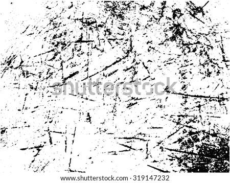 Grunge texture.Distress texture.Scratch texture.Abstract vector template. - stock vector