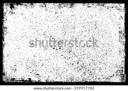 Grunge texture.Grunge frame.Abstract vector template. - stock vector