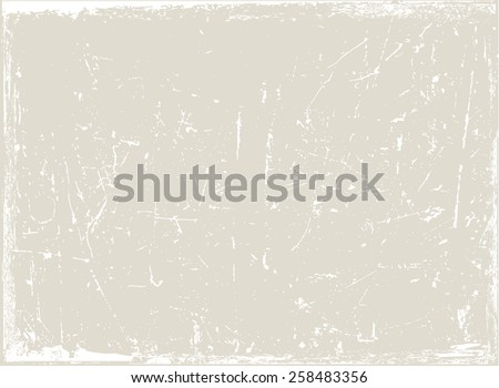 Grunge texture.Scratch texture.Abstract vector template. - stock vector