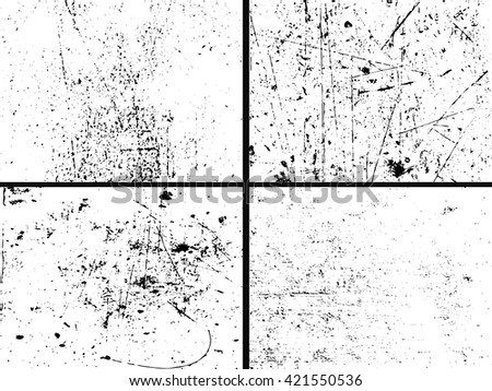 Grunge texture set in black and white. Set Grunge Texture. Grunge Background.Grunge Effect.Grunge Texture.Grunge Vector.Grunge Black.Grunge Texture.Grunge Dirty.Grunge Grain.Grunge Rough.Grunge Vector - stock vector