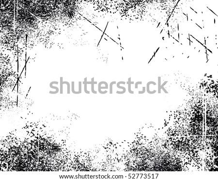 Grunge textured background - stock vector