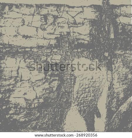 grunge textures. background. vector illustration. - stock vector