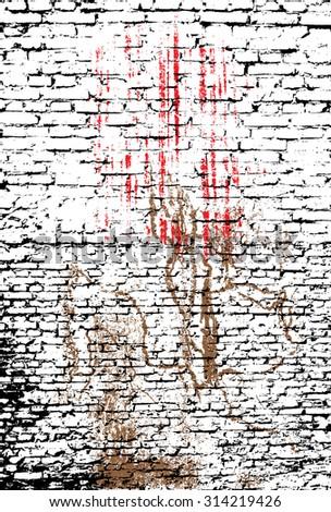 grunge textures set. background - stock vector