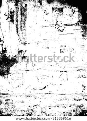 grunge textures set. background