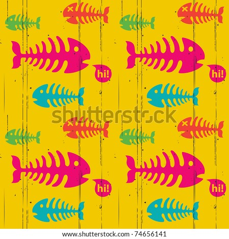 Grunge trendy background - stock vector