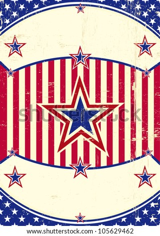 Grunge US Background. A patriotic background for you