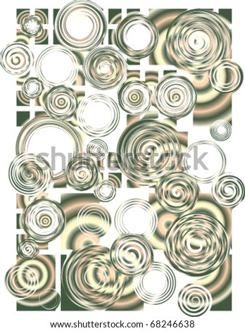 grunge vector curved background , silver color