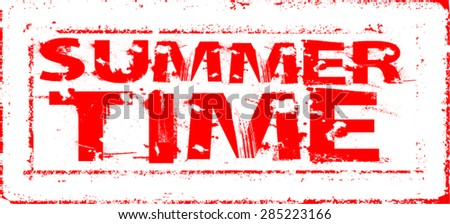 Grunge Vector Rectangle Stamp .
