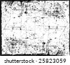Grunge vector texture can also be used as a frame - stock photo