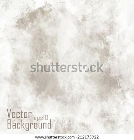 Grunge vintage old paper background. Vector. - stock vector