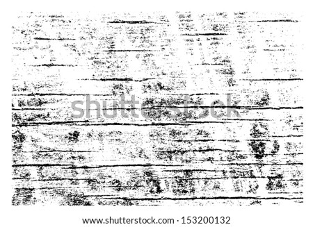 Grunge Wood Vector Overlay texture - stock vector
