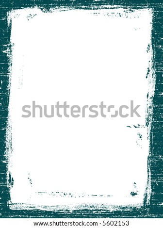 Grunged Border 4 -  Highly Detailed vector grunge graphic. - stock vector