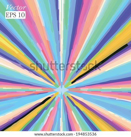 Grungy background. Colorful texture. Vector format. - stock vector